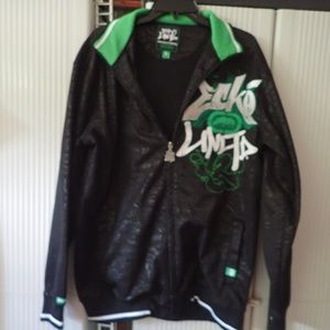 Ecko Unlimited Large Writing All Wrongs Jacket
